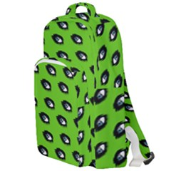 Eyes Green Double Compartment Backpack