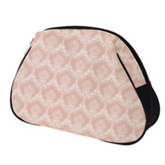 Damask Peach Full Print Accessory Pouch (small)