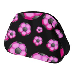 Wallpaper Ball Pattern Pink Full Print Accessory Pouch (small) by Alisyart