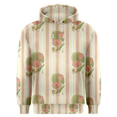 Lotus Flower Waterlily Wallpaper Men s Overhead Hoodie