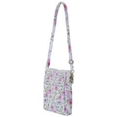 Pink Flowers Multi Function Travel Bag by goljakoff