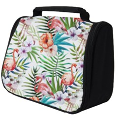 Tropical Flamingos Full Print Travel Pouch (big) by goljakoff