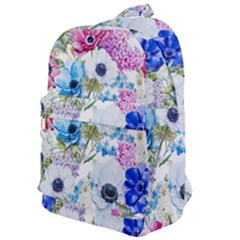 Blue And Purple Flowers Classic Backpack by goljakoff