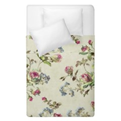 Vintage Roses Duvet Cover Double Side (single Size)