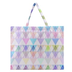 Zappwaits Papeete Zipper Large Tote Bag by zappwaits