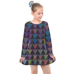 Zappwaits Style Kids  Long Sleeve Dress by zappwaits