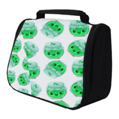 Kawaii Lime Jam Jar Pattern Full Print Travel Pouch (small)