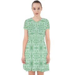 Ornamental Green Adorable In Chiffon Dress by snowwhitegirl
