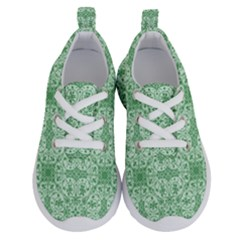 Ornamental Green Running Shoes