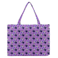 Kawaii Grape Rootbeer Zipper Medium Tote Bag by snowwhitegirl