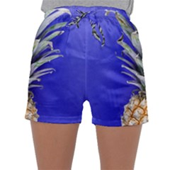 Pineapple Blue Sleepwear Shorts