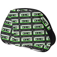 Green Cassette Full Print Accessory Pouch (big)