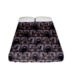 Gothic Church Pattern Fitted Sheet (full/ Double Size)