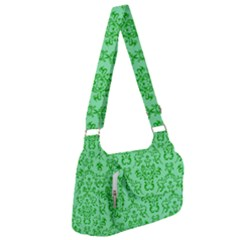 Victorian Paisley Green Post Office Delivery Bag