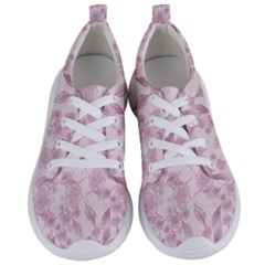 Pink Floral Women s Lightweight Sports Shoes