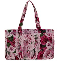 Guadalupe Roses Canvas Work Bag by snowwhitegirl
