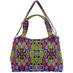 Ml 115 Double Compartment Shoulder Bag by ArtworkByPatrick
