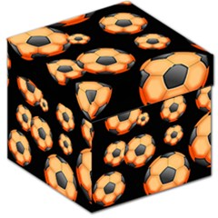 Wallpaper Ball Pattern Orange Storage Stool 12