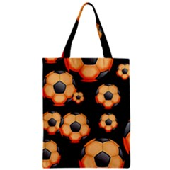 Wallpaper Ball Pattern Orange Classic Tote Bag
