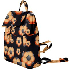 Wallpaper Ball Pattern Orange Buckle Everyday Backpack