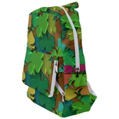 Shamrock Four Leaf Clover Travelers  Backpack