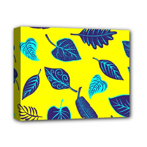 Leaves Leaf Deluxe Canvas 14  X 11  (stretched)