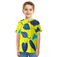 Leaves Leaf Kids  Sport Mesh Tee