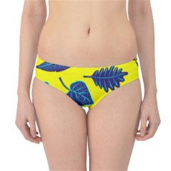 Leaves Leaf Hipster Bikini Bottoms