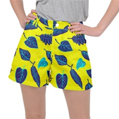 Leaves Leaf Stretch Ripstop Shorts
