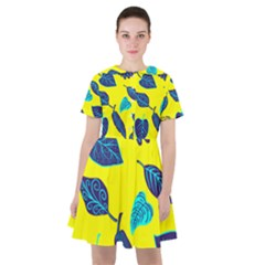 Leaves Leaf Sailor Dress