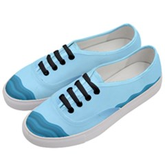 Making Waves Women s Classic Low Top Sneakers by WensdaiAddamns