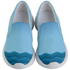 Making Waves Kids  Lightweight Slip Ons by WensdaiAddamns