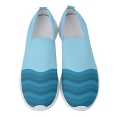 Making Waves Women s Slip On Sneakers by WensdaiAddamns
