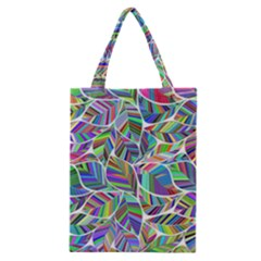 Leaves Leaf Nature Ecological Classic Tote Bag