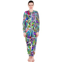 Leaves Leaf Nature Ecological Onepiece Jumpsuit (ladies)