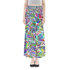 Leaves Leaf Nature Ecological Full Length Maxi Skirt