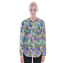 Leaves Leaf Nature Ecological Womens Long Sleeve Shirt