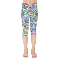 Leaves Leaf Nature Ecological Kids  Capri Leggings