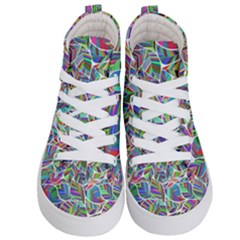 Leaves Leaf Nature Ecological Kids  Hi Top Skate Sneakers