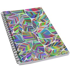 Leaves Leaf Nature Ecological 5 5  X 8 5  Notebook