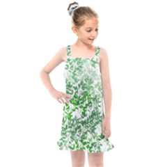 Seamless Tile Background Abstract Kids  Overall Dress by AnjaniArt