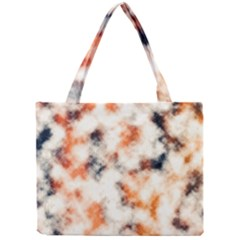 Multicolored Blur Abstract Texture Mini Tote Bag by dflcprintsclothing