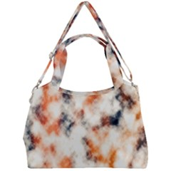Multicolored Blur Abstract Texture Double Compartment Shoulder Bag by dflcprintsclothing