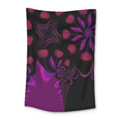 Background Red Purple Black Color Small Tapestry