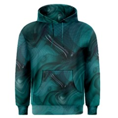 Abstract Graphics Water Web Layout Men s Pullover Hoodie by Pakrebo