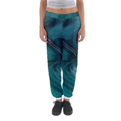 Abstract Graphics Water Web Layout Women s Jogger Sweatpants