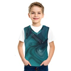 Abstract Graphics Water Web Layout Kids  Sportswear