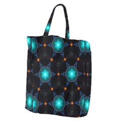 Ornament Pattern Color Background Giant Grocery Tote