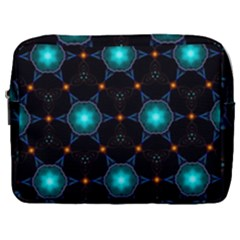 Ornament Pattern Color Background Make Up Pouch (large)