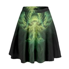 Fractal Jwildfire Scifi High Waist Skirt